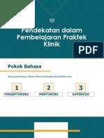 Pendekatan Dalam Pembelajaran Praktek Klinik (1) (1)