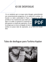 TUBO DE DESFOGUE