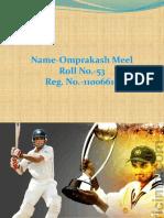 Sourav Ganguly of India Rediff com