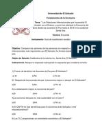 Fórmula Para El Cálculo de La Muestra
