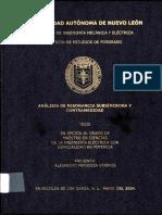 Analisis de resonancia subsincrona y contramedidas.PDF