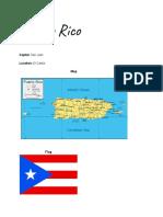 Puerto Rico Information