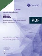 ES EG Configuration Center Programming Manual v5 2 x Dated 2018-07-09