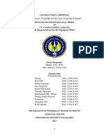 369845187 Laporan Observasi Diagnosis Alat Berat AB 1