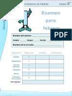 Examen Oficial de 6to Grado (1)