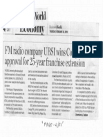 Business World, Feb. 28, 2019, FM radio company UBSI wins Congressional approval for 25-year franchise extension.pdf