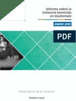 Informe Mensual Departamental Enero 2019 Con Portada
