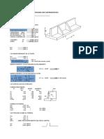 Diseño Muro de Contencion Excel