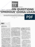 Philippine Daily Inquirer, Feb. 28, 2019, Ex-Solon questions onerous China loan.pdf