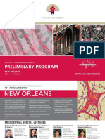 2012 Preliminary Program