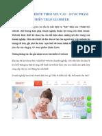 Thiet Ke Website Theo Yeu Cau Dược Phẩm Thiên Thảo Globifer