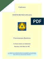 Vicente Beltran Conversdaciones Esoteric As