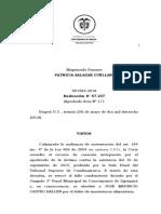 SP1984-2018(47107) El Tipo de Inasistencia Exige Capacidad Economica No Liquidez Monetaria