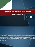 Conducta Administrativa Irregular
