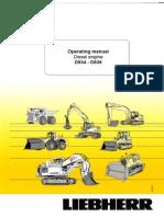 Operating Manual d934-d936