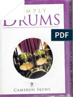 Simply Drums - Book