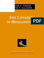 (Pocket Guide to Social Work Research Methods) Brian E. Perron, David F. Gillespie - Key Concepts in Measurement-Oxford University Press (2015).pdf
