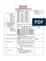 Material Specification Sheet