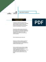 Características de Conductores