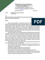 surat BOP 2010