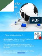 authentication methods.ppt