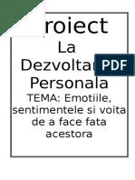 Dezvoltarea personala