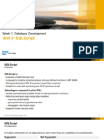 oPEN SAP - Hana6 SQL