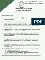 2018 Soal OSP Matematika SMP Folder OSN