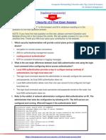 CCNA Security v2.0 Final Exam Answers