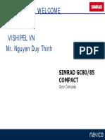 SIMRAD GC80/85 COMPACT