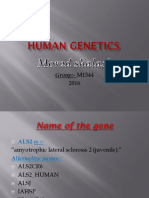 Human Genetics 3 Morad