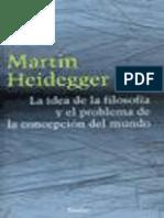 [2005] Heidegger - La idea de la filosofia (GA 56 57).pdf