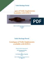 Catalogue VedicImplements IGNCA