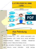 Kuliah 20 - Alat Pelindung Diri 2018 (dr. Dwita).pptx
