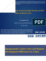 Recruitment Regime of Guest Foreign Workers in PRC