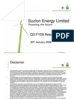 Suzlon Energy Limited Analyst Presentation-Final
