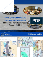 Metropolitan Transit Commission CATS recommendations February 27, 2019