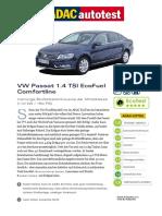 VW Passat 1 4 TSI EcoFuel Comfortline Erdgasbetrieb