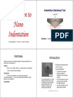 Nanoindentation-Lecture Notes (1)