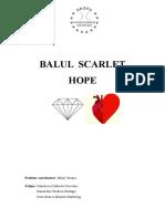Balul Scarlet Hope
