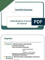 LP Monitorizarea Individuala Si a Locurilor de Munca