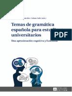 Temas de Gramaticas Españolas