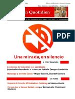 Lacancotidiano Estado de excepción - Adriana Hidalgo