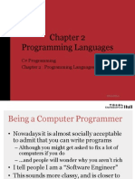 Ch 02 Programming Languages Slides