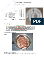 Italian Beef and Garlic Sausage (Fresh) - Beef&Garlic-Frank