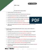 OC 5H U7 Diagnostische Toets Keys