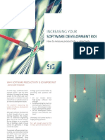 Increasing Your Software Development ROI
