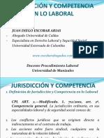 Jurisdicción y Competencia 2