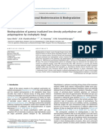 Effects of Polyethylene Microplastics on the Gut Microbial Community, Reproduction and Avoidance Behaviors of the Soil Springtail, Folsomia Candida