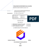 Laporan Praktikum Instrumentasi Analitik Gc